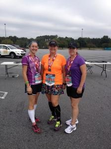 Post race with Jeneen & Veronica