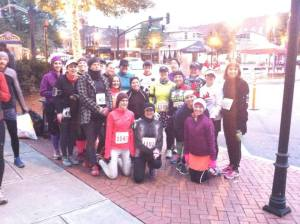 MRTT chapters at Red Nose Half